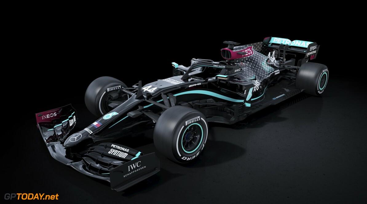 Mercedes toont zwarte livery voor 2020-seizoen