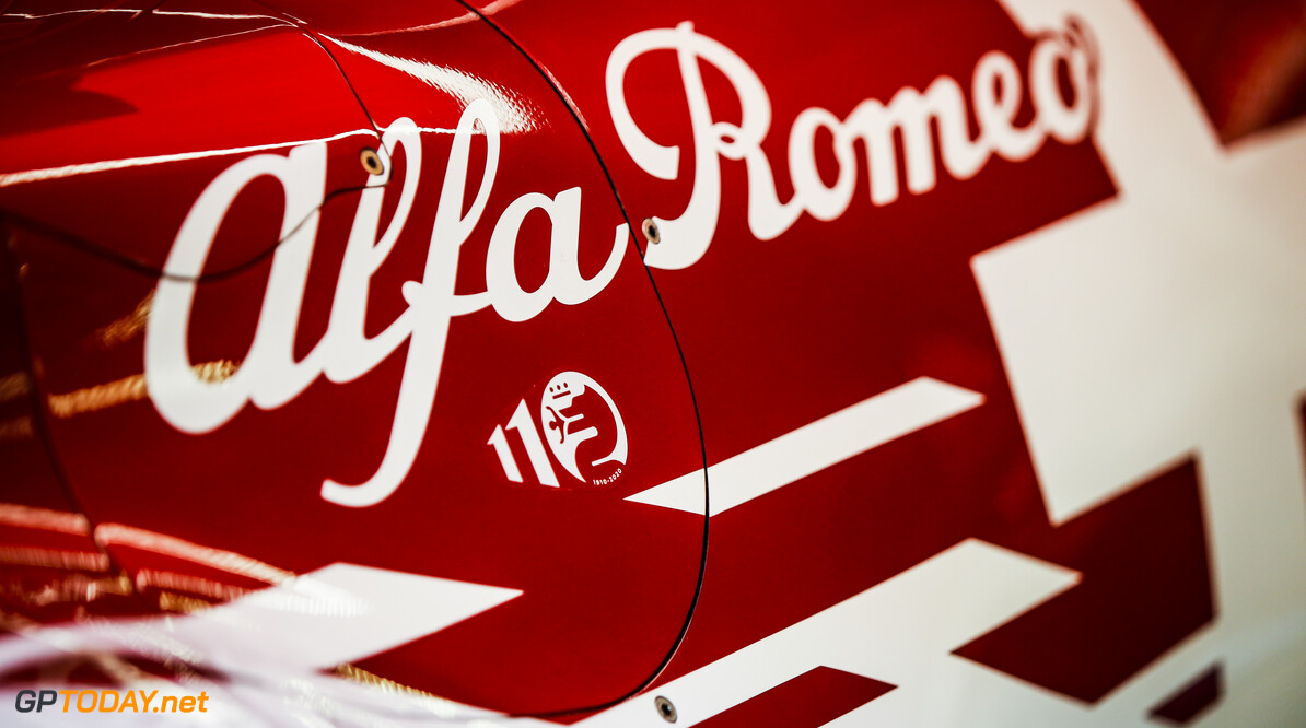 Alfa Romeo Racing ORLEN C39, mechanical detail of engine cover during the Formula 1 Rolex Grosser Preis von Osterreich 2020, Austrian Grand Prix from July 02 to 05, 2020 on the Red Bull Ring, in Spielberg, Austria - Photo Florent Gooden / DPPI F1 - AUSTRIAN GRAND PRIX 2020