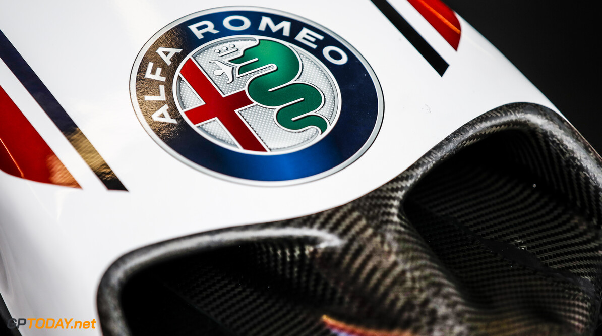 Alfa Romeo Racing ORLEN C39, mechanical detail of front wing during the Formula 1 Rolex Grosser Preis von Osterreich 2020, Austrian Grand Prix from July 02 to 05, 2020 on the Red Bull Ring, in Spielberg, Austria - Photo Florent Gooden / DPPI F1 - AUSTRIAN GRAND PRIX 2020