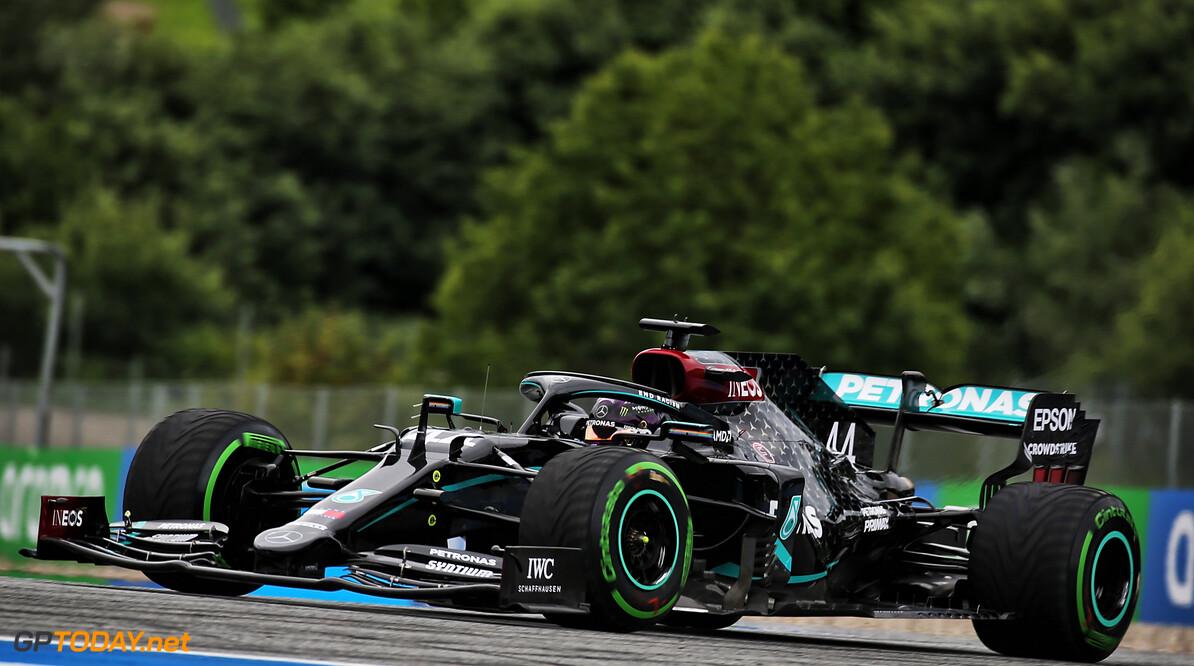 Kwalificatie: Hamilton klasse apart in de regen, Verstappen weer op P2