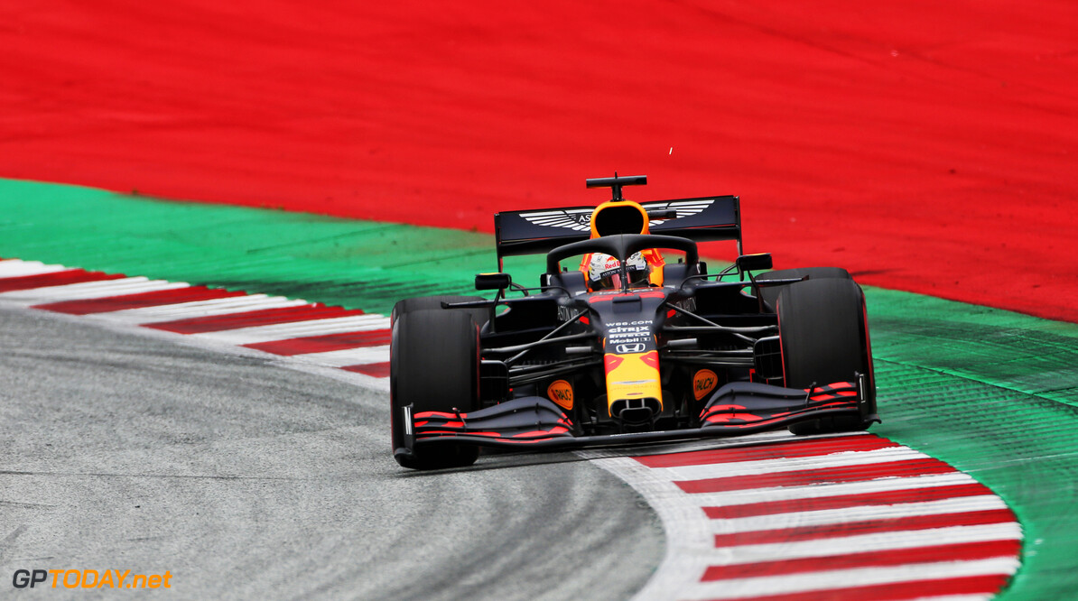 Damaged front wing hid Red Bull's true pace - Verstappen