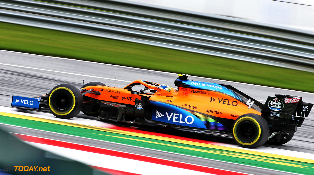 Norris: Rediscovering F1 brakes was 'a shock to the system'