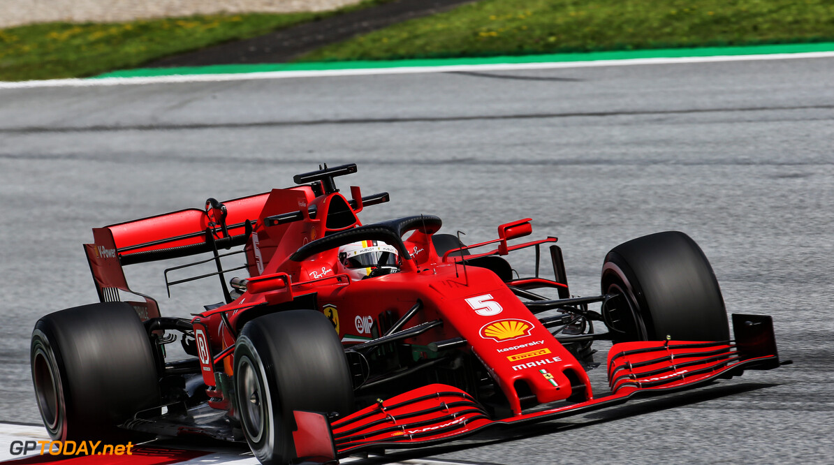 Ferrari lacking 'grip and downforce' compared to rivals - Vettel