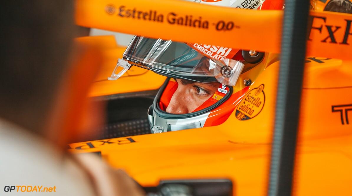 Carlos Sainz, McLaren   Spielberg Austria  Portrait Helmets