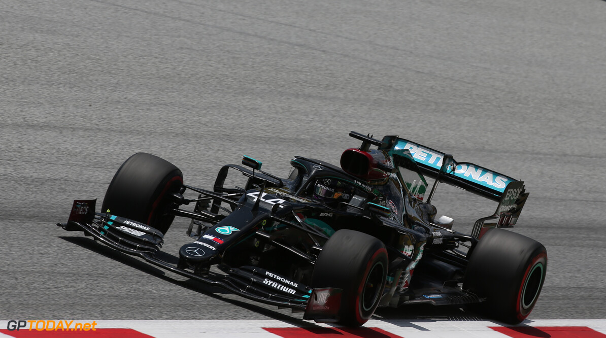 <strong>Styrian GP:</strong> Hamilton cruises to race win, Ferrari implodes