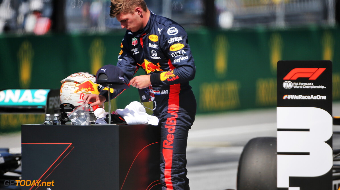 Verstappen feeling confident starting Austrian GP on alternate tyre