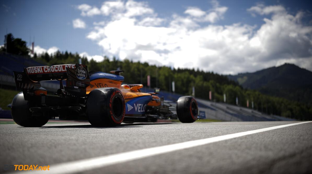Carlos Sainz Jr., McLaren MCL34  AH-QUAL-REARSX20 Spielberg Austria  Action