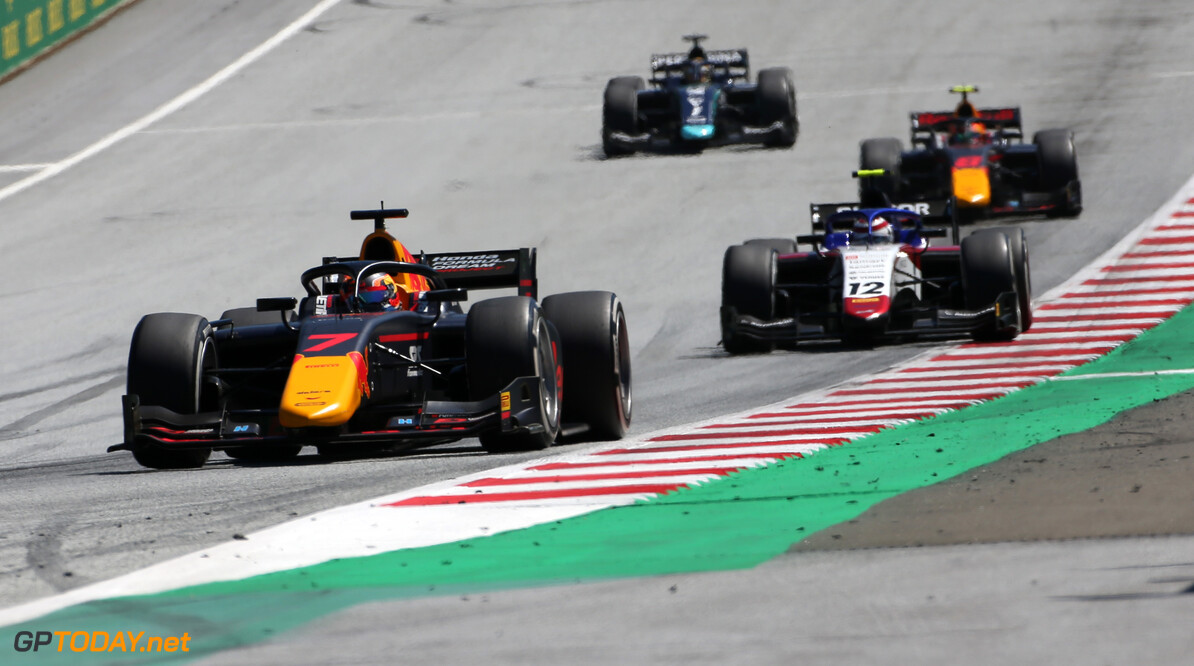 <strong>Practice: </strong>Red Bull junior Tsunoda leads Mazepin in Austria