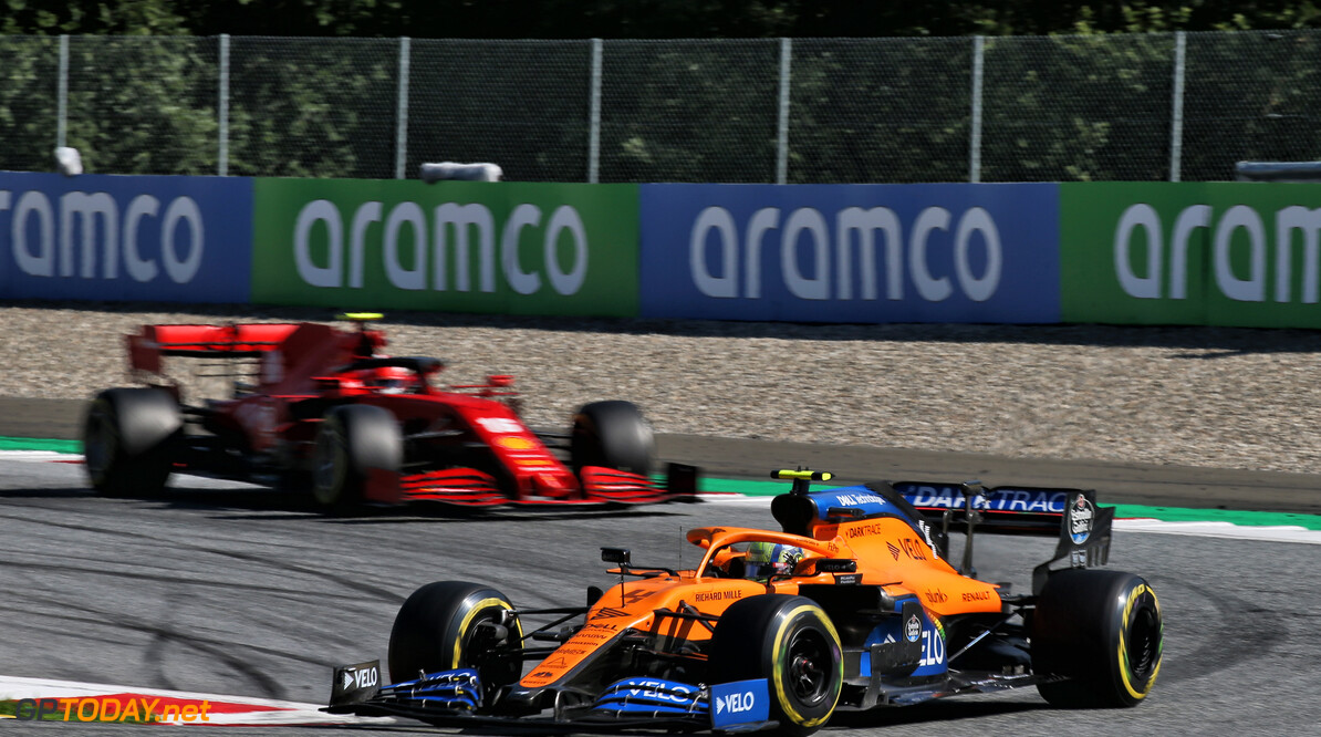 Norris wary of Ferrari comeback despite podium finish
