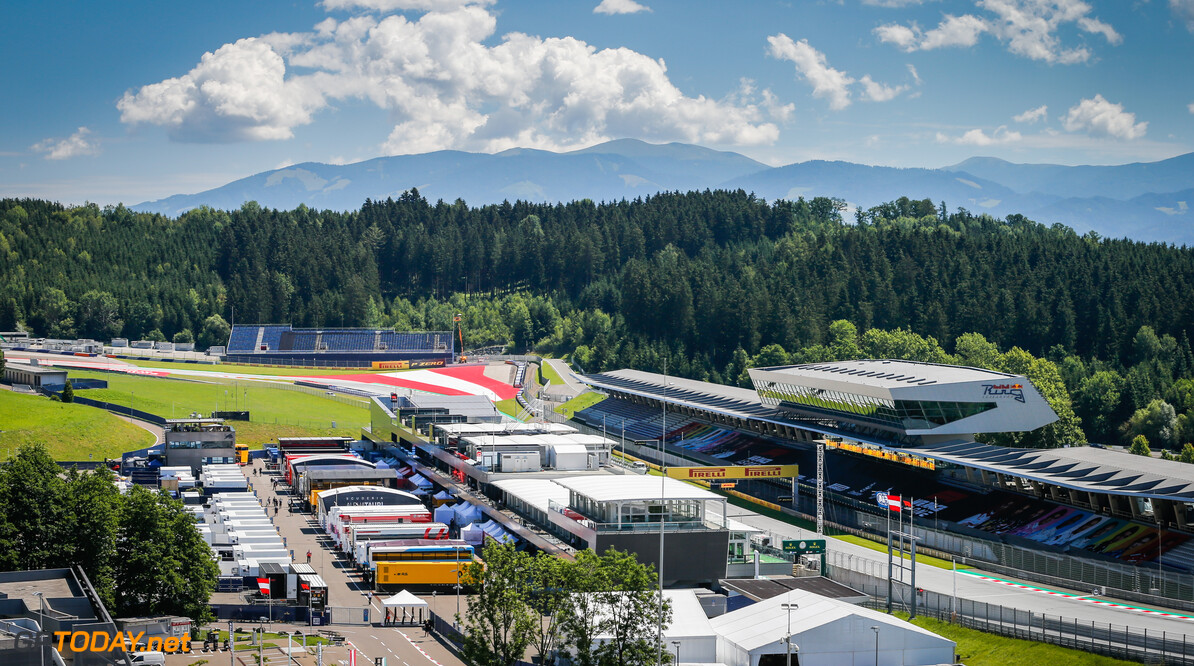 paddock during the Formula 1 Pirelli Grosser Preis der Steiermark 2020, Styrian Grand Prix from July 10 to 12, 2020 on the Red Bull Ring, in Spielberg, Austria - Photo Antonin Vincent / DPPI F1 - STYRIAN GRAND PRIX 2020  Antonin Vincent    2020 Austria Autriche Red Bull Ring Spielberg Styrian Styrie europe f1 formula 1 formule 1 formule un grand prix motor racing motorsport