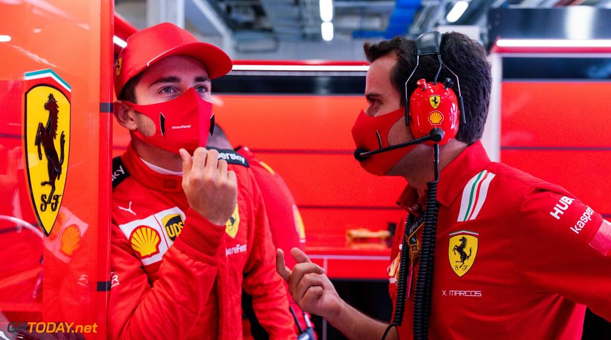 Charles Leclerc manifesteert zich als teamleider binnen Ferrari