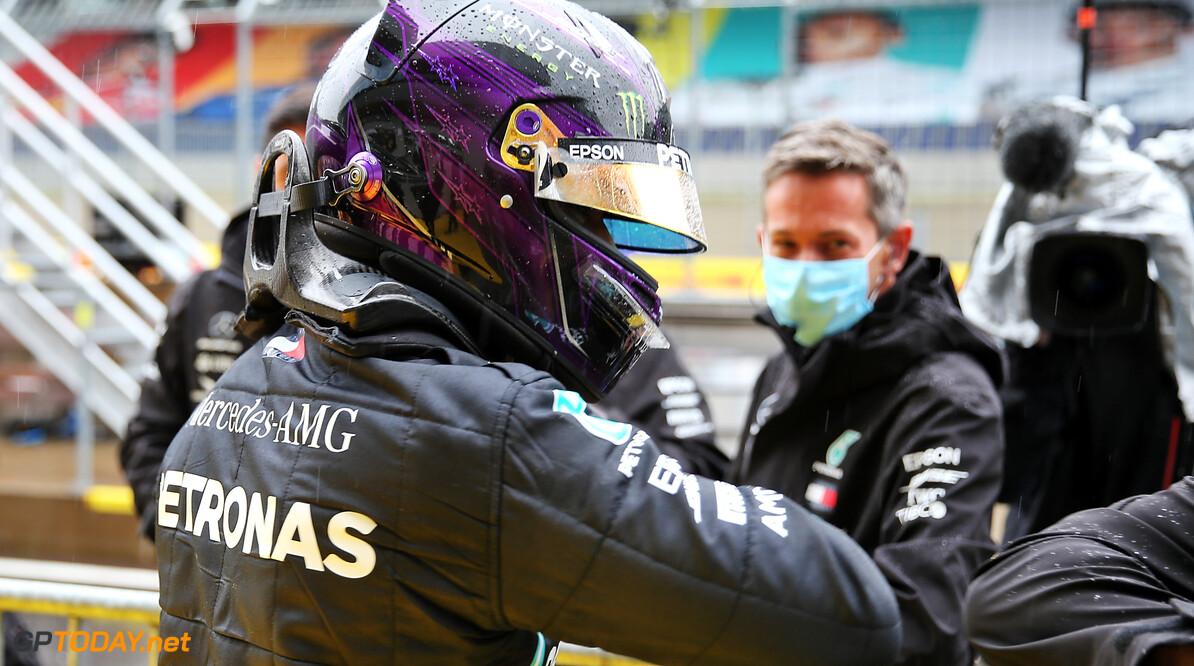 """Lewis Hamilton na overwinning: """"Ik ben blij en wil iedereen bedanken"""""""
