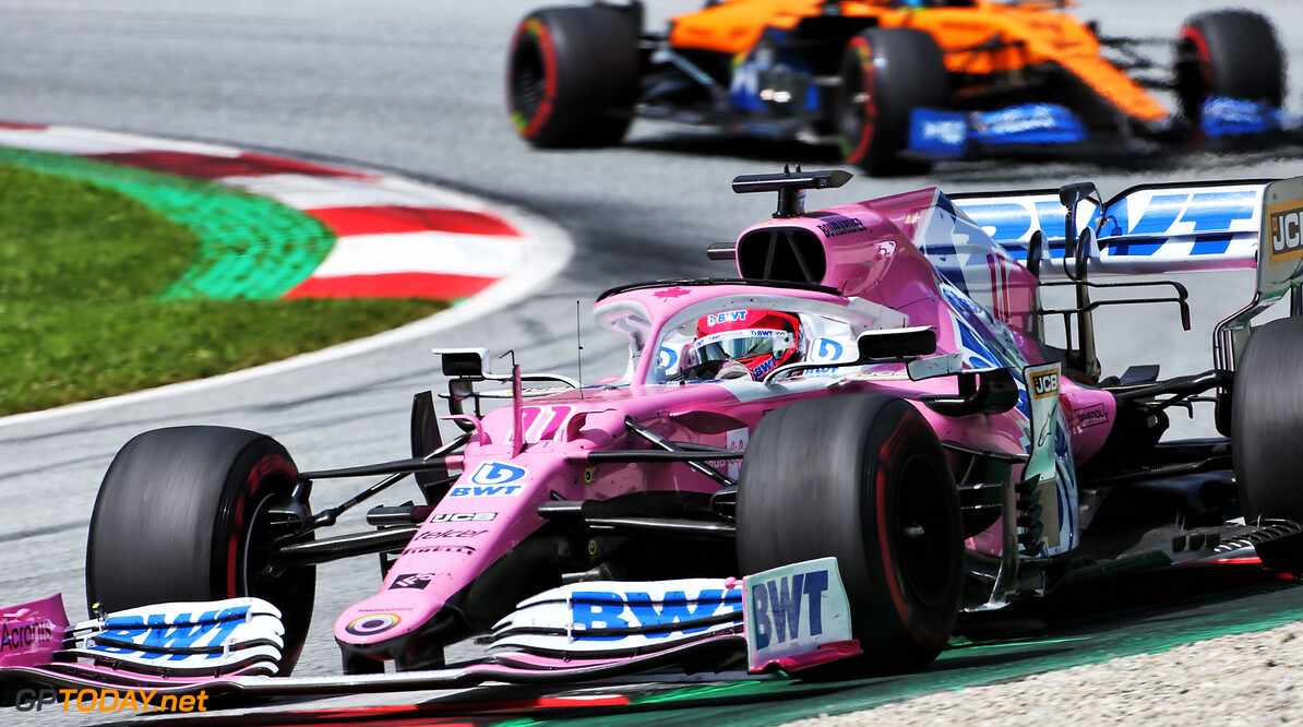 Perez feels 'lucky' to only lose one position after Albon crash
