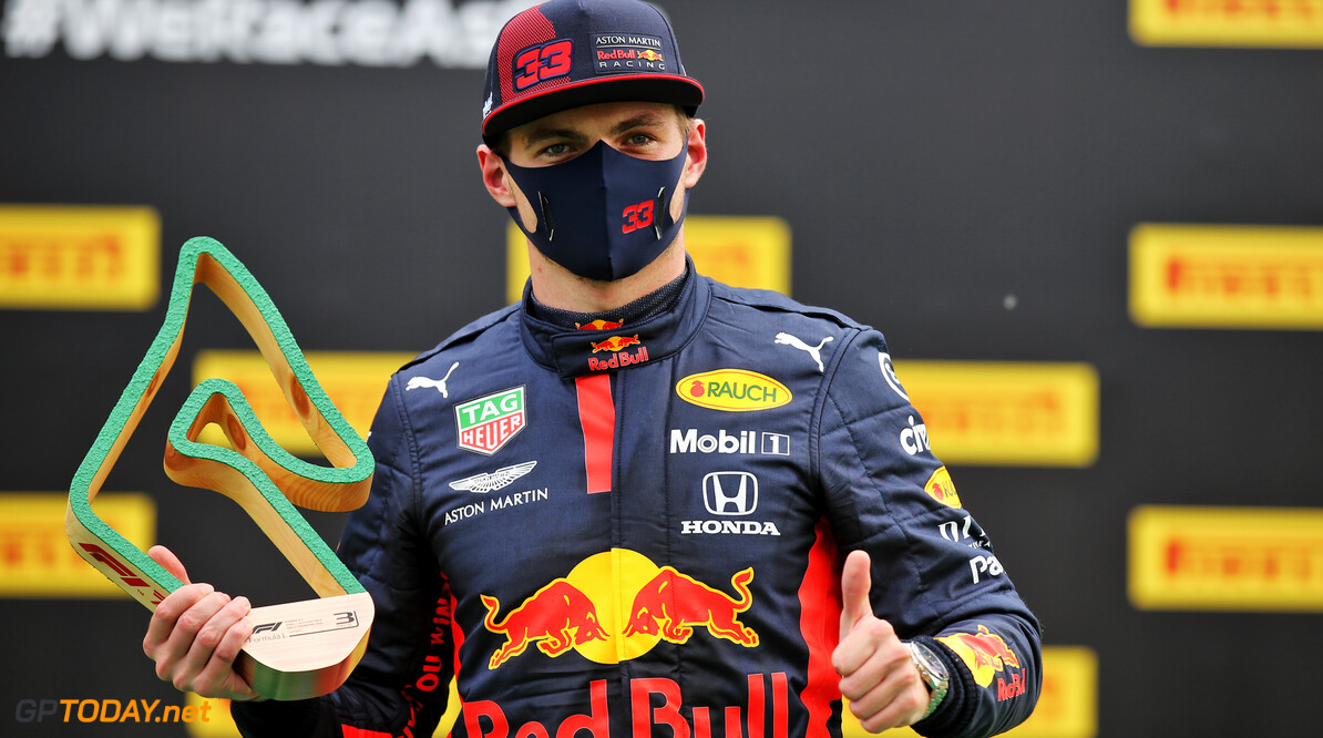 Red Bull 'just too slow' to fight Mercedes - Verstappen