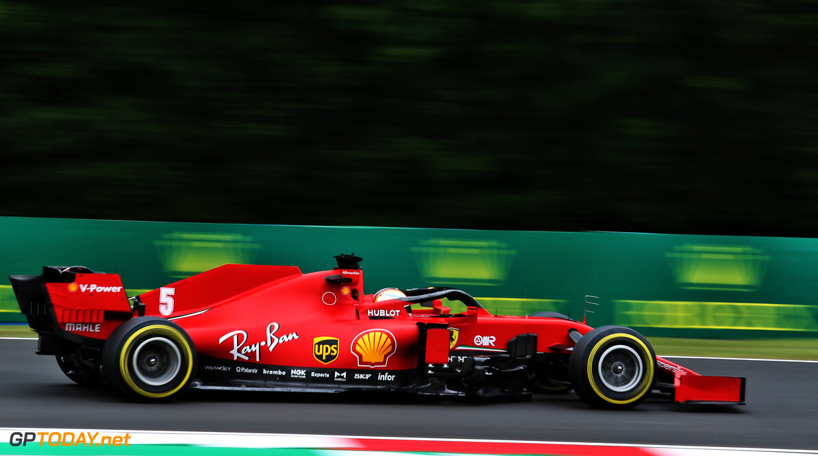 Vettel expects Hungary to be 'a bit better' for Ferrari after Friday running