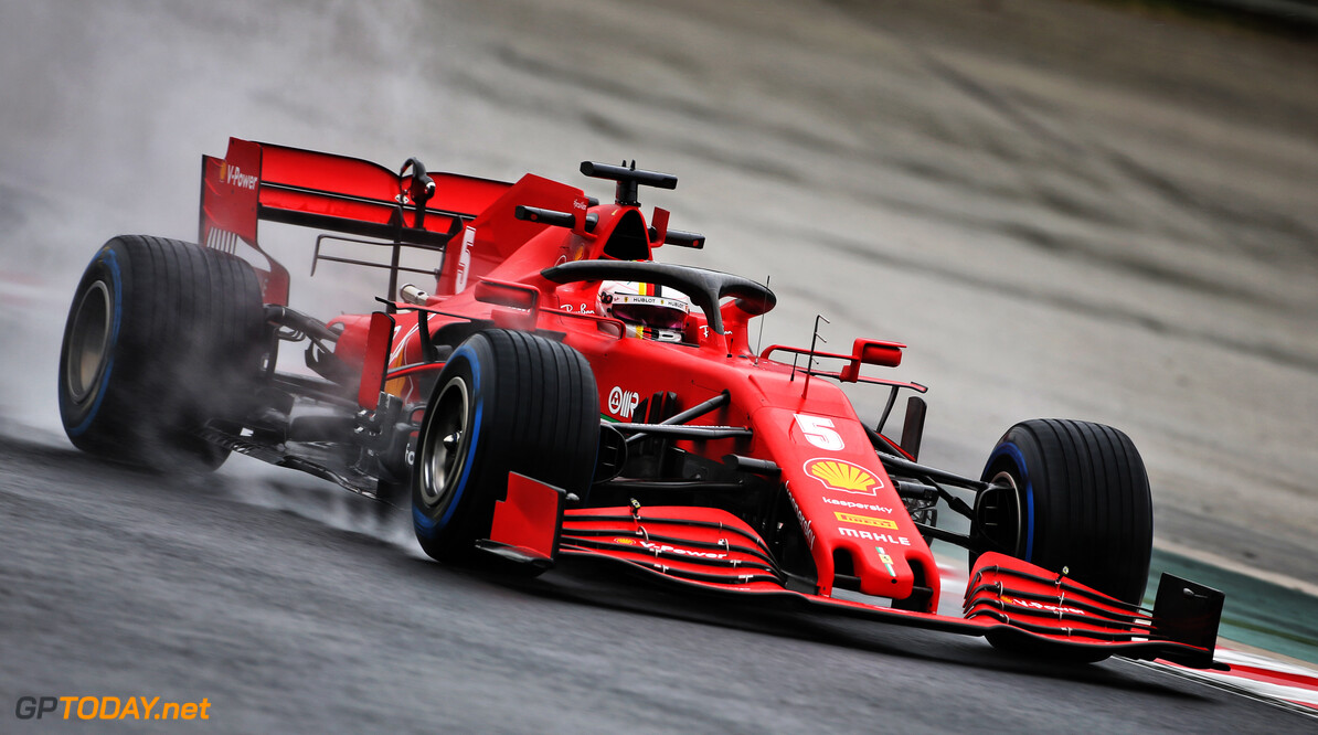 <strong>FP2:</strong> Vettel tops wet second practice at the Hungaroring