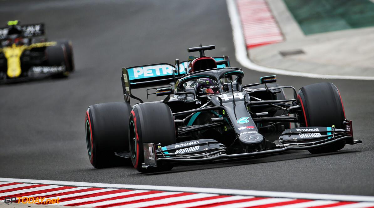 Hamilton dominant naar 90ste pole position, Verstappen en Red Bull vallen zwaar tegen