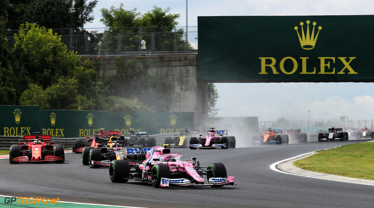 Stroll disappointed at losing podium chance despite strong fourth place finish