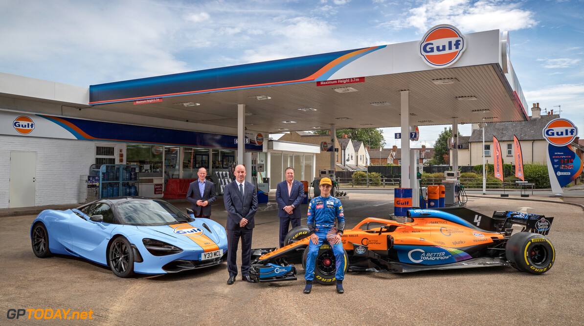 McLaren reunites with Gulf in new multi-year partnership deal