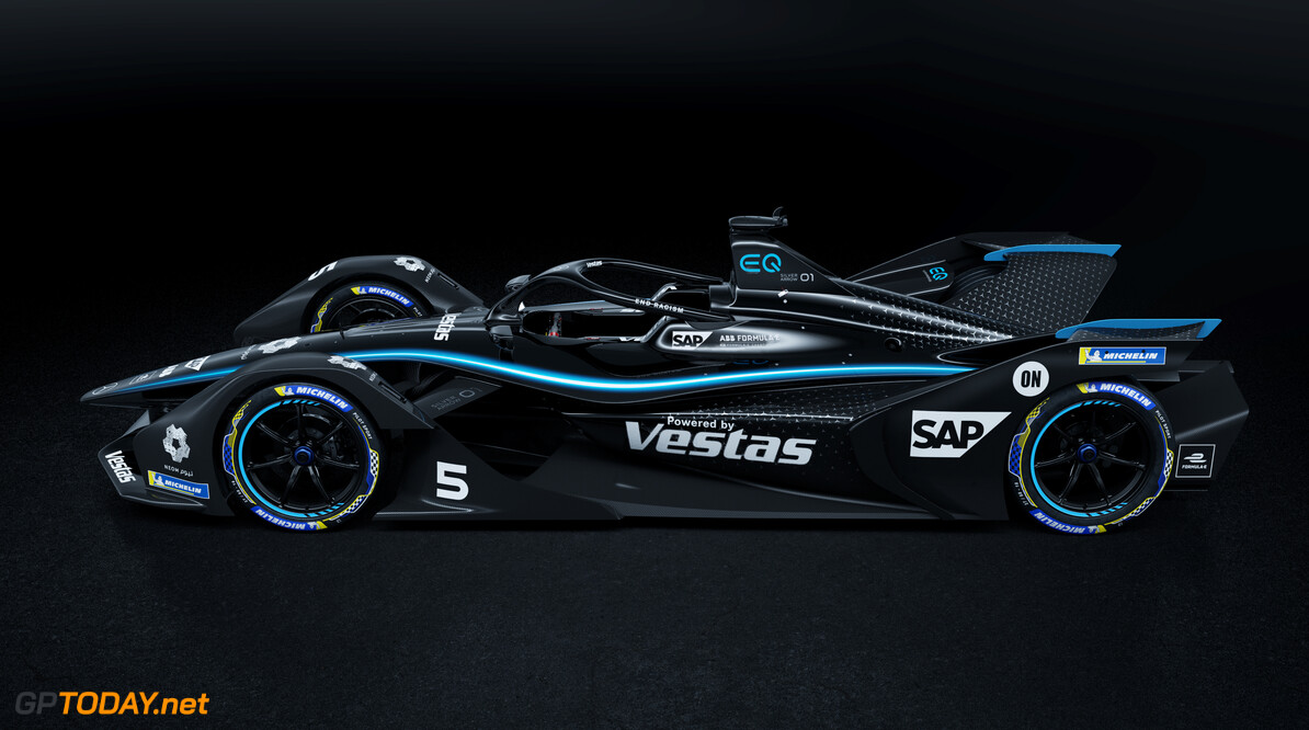 Mercedes to use all-black base livery in Formula E
