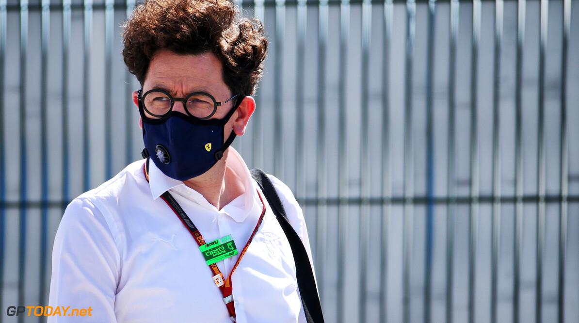 """Mattia Binotto: """"Ferrari erg tevreden met nieuwe voorwaarden van Concorde Agreement"""""""
