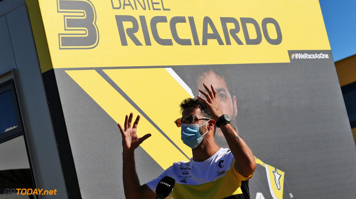 Nieuw Renault-chassis voor Daniel Ricciardo