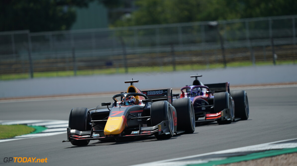 <strong>Sprint Race</strong>:  Tsunoda takes advantage of Prema collision for first F2 victory