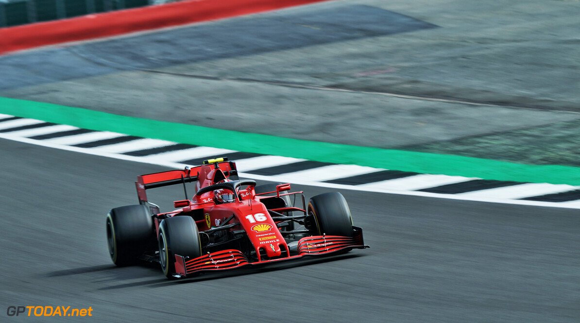 Leclerc 'extremely happy' to qualify fourth at Silverstone