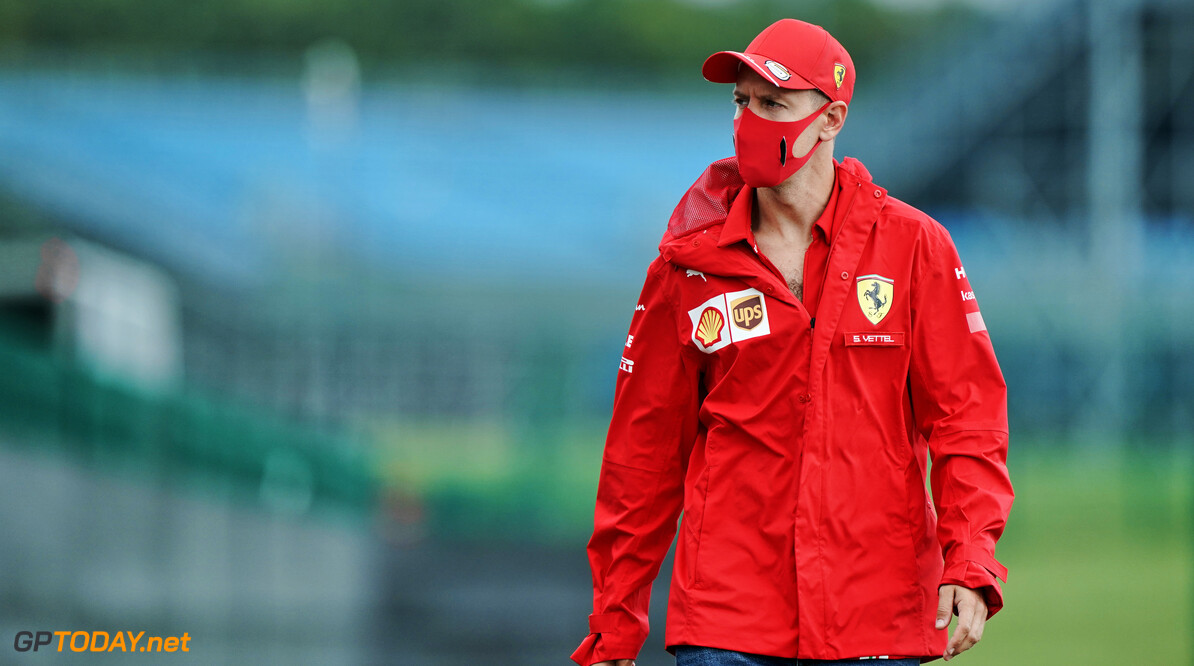 Raikkonen and Ricciardo back Vettel to come back at Ferrari
