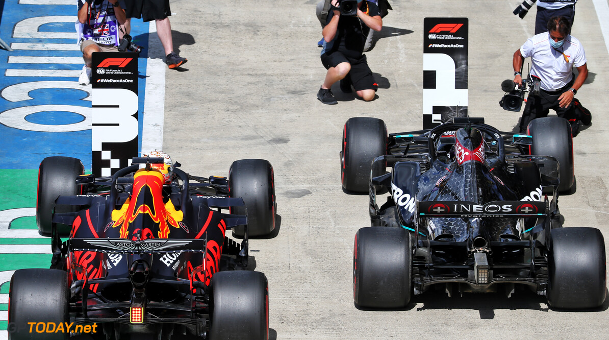 Verstappen: P3 gives Red Bull a 'fighting chance' against Mercedes