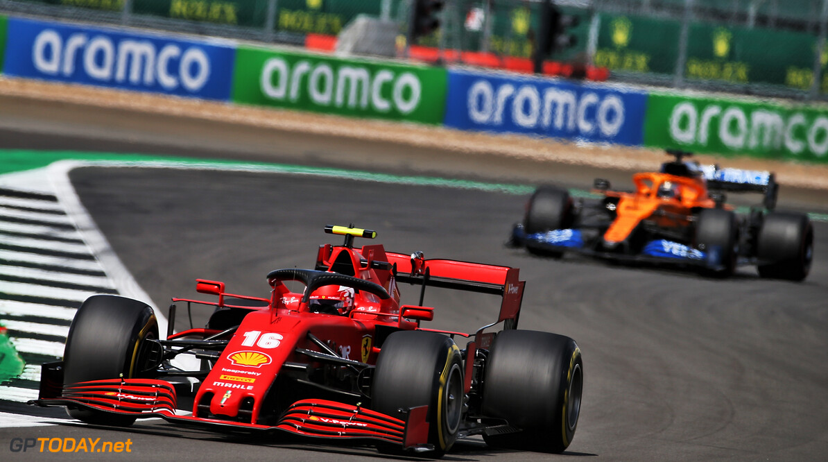 Leclerc holds Silverstone fourth place 'like a victory'