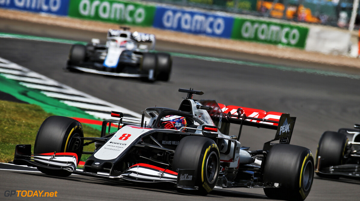 Steiner encouraged by Haas' British GP race pace
