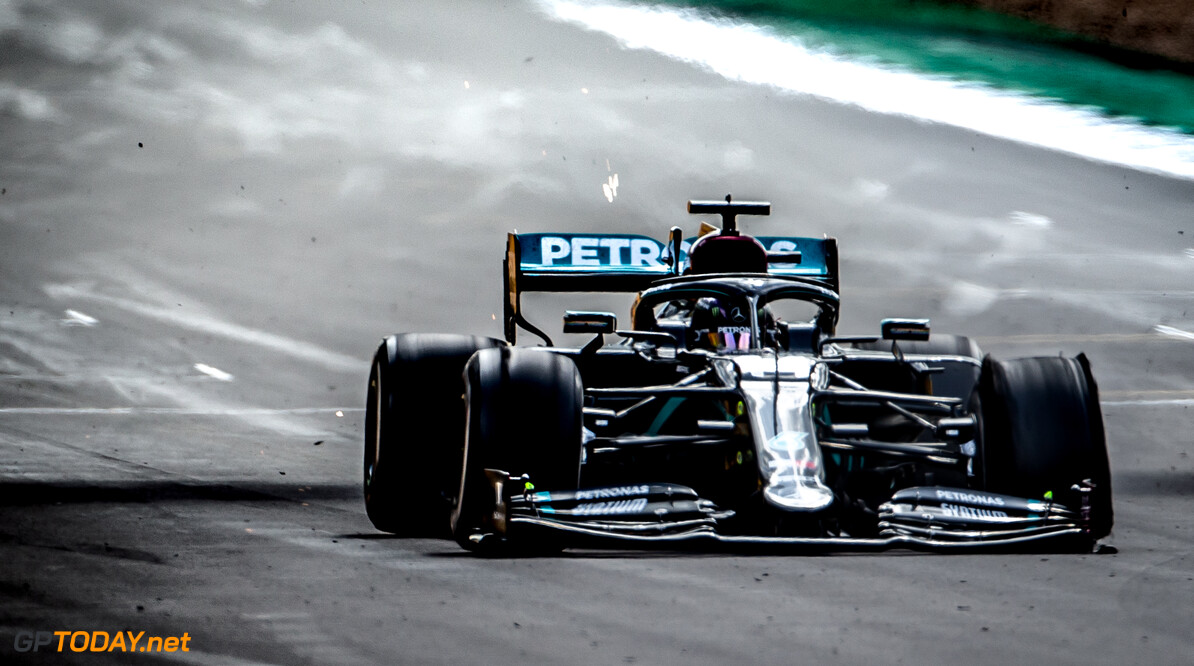 Hamilton felt 'really chilled' despite late British GP puncture