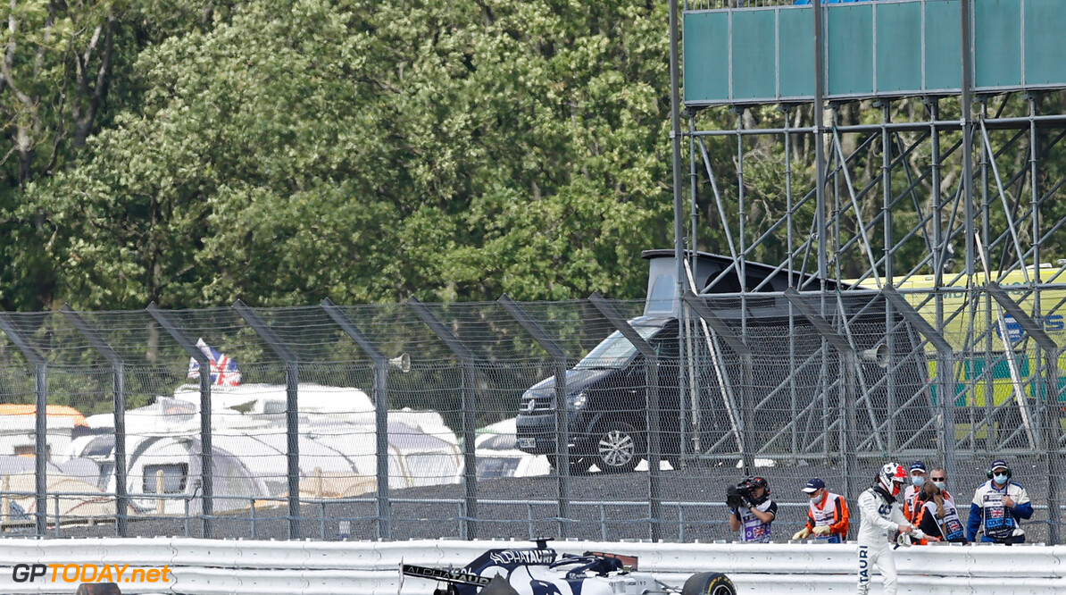 Kvyat crash prompts extra tyre barrier for 70th Anniversary GP