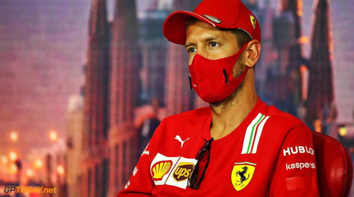 """Geen nieuws over toekomst Sebastian Vettel: """"Ik heb niets te tekenen"""""""