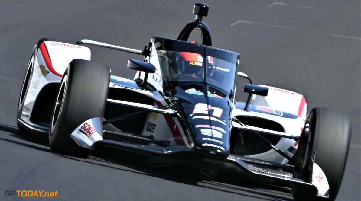 Rinus van Kalmthout 'VeeKay' stunt met een vierde startplaats voor de allereerste Indy 500