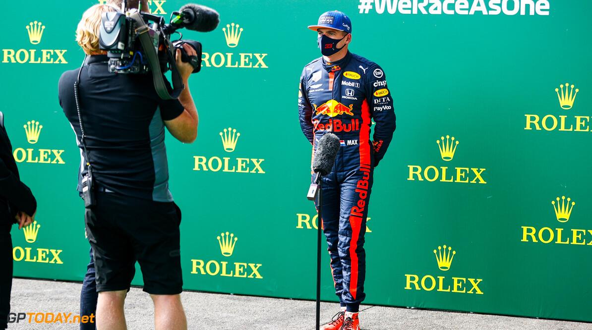 Max Verstappen heeft de hoop op wereldtitel in 2020 nog niet opgegeven