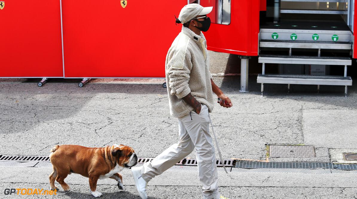 Lewis Hamilton stopt met Franse les