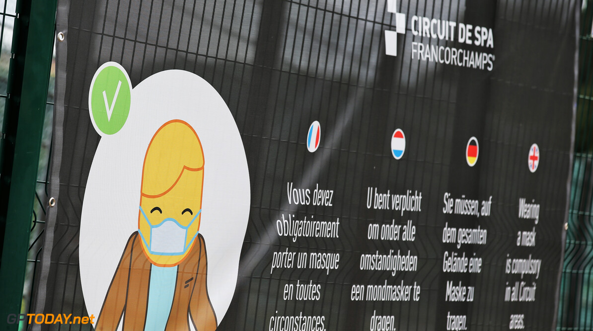 België staat maximaal 75.000 fans per dag toe langs Spa-Francorchamps