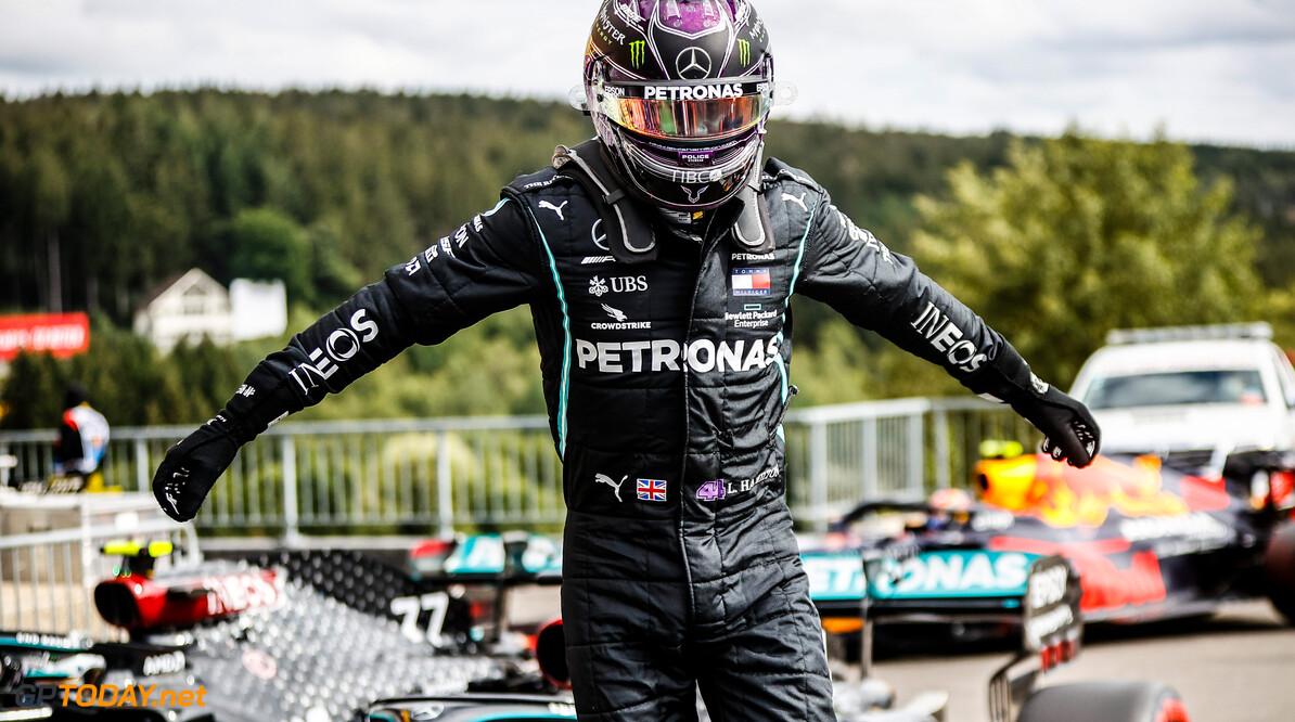 """Lewis Hamilton: """"Het was best een lastige race, out there"""""""