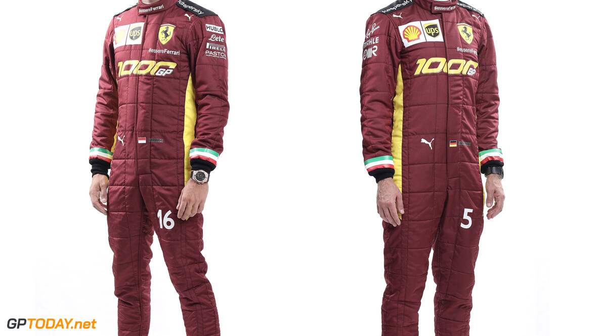 1000ste Grand Prix voor Ferrari: Charles Leclerc racet met speciale helm