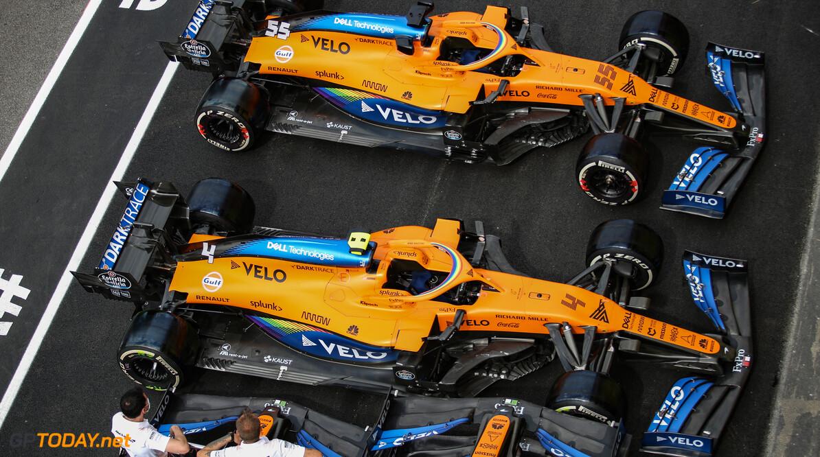Oranje en blauw vormen weer de basis voor livery McLaren