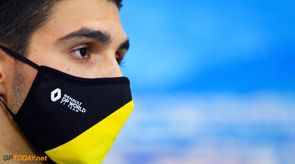 """Esteban Ocon: """"Renault goed in de regen dus laat maar komen"""""""