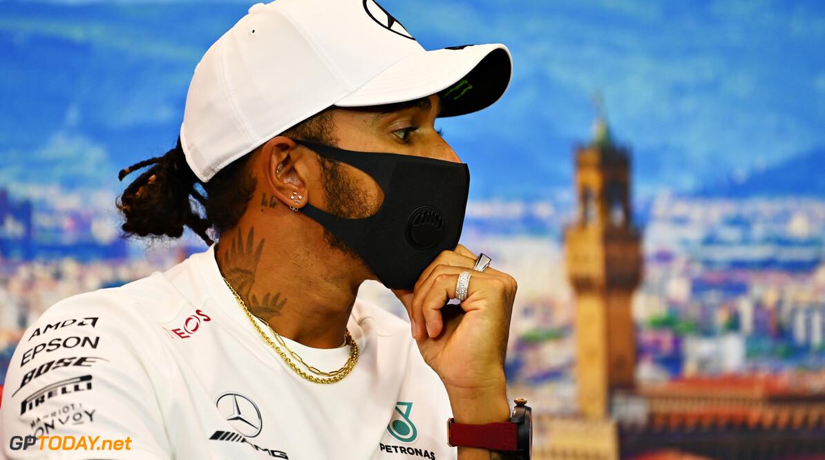 Lewis Hamilton: Het was echt een uitdaging