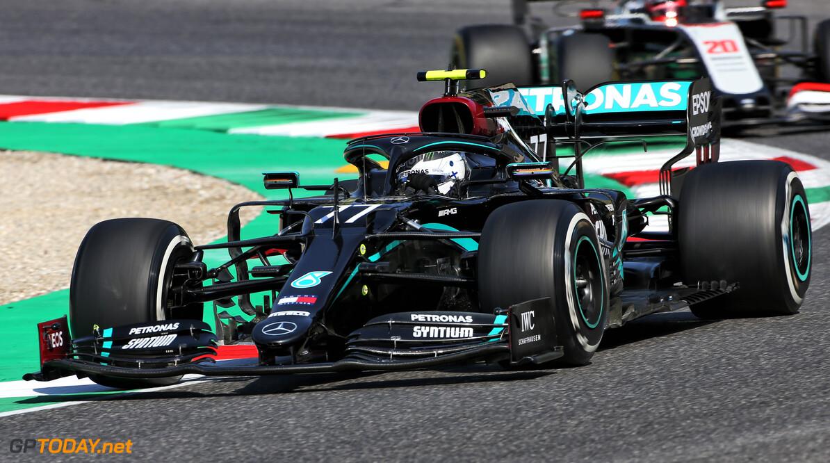 VT1 Grand Prix van Toscane: Bottas snelste, nipt voor Verstappen en Leclerc