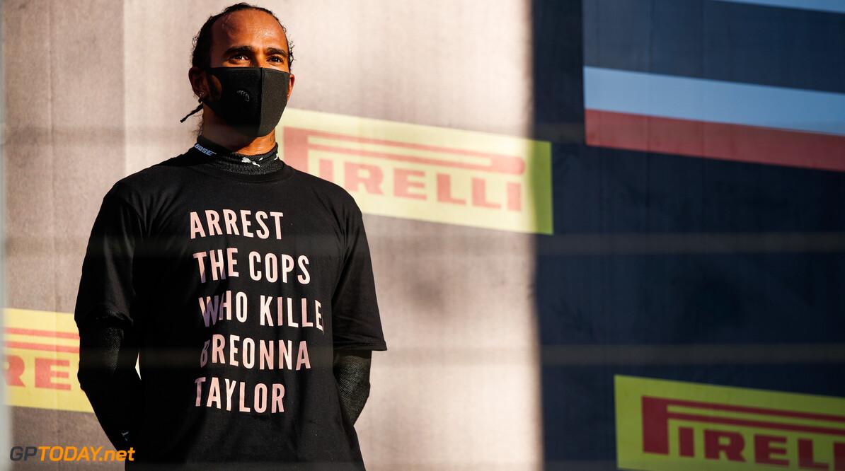 """Ralf Schumacher: """"Politiek activisme van Hamilton is gevaarlijk voor de F1"""""""