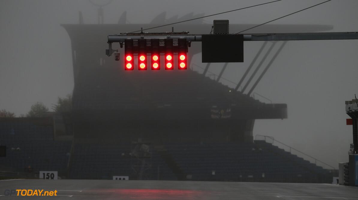 F1 verplaatst medische helikopters voor reserveplan bij mist