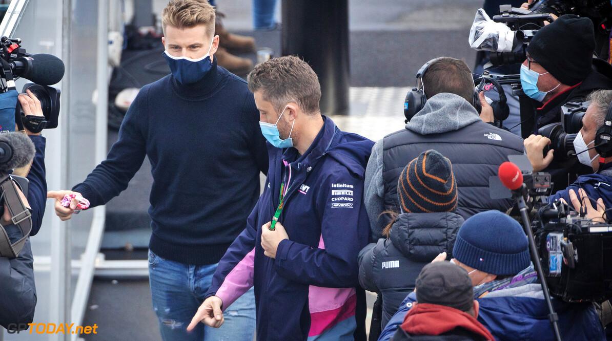 Nico Hulkenberg mee naar Portugal om eventueel Lance Stroll te vervangen