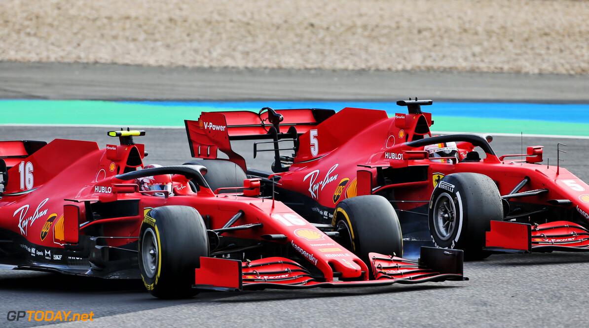 Ferrari is snel in kwalificatie maar heeft problemen met zware racewagen