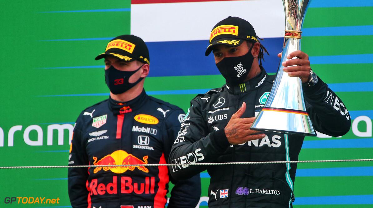 """<b>Video: </b>Max Verstappen toont groot respect voor Hamilton: """"Heel indrukwekkend wat hij bereikt heeft"""""""